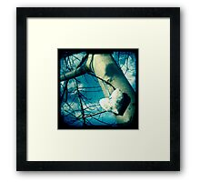 High heart Framed Print