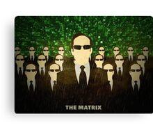 The Matrix Canvas Print