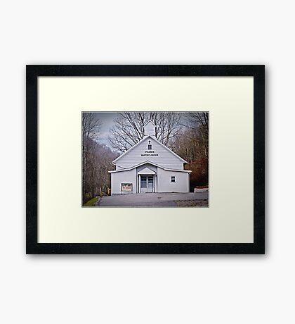Thanksgiving Pilgrim Framed Print