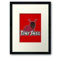 Tony Snail Framed Print