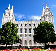 LDS Temple by HoltPhotography