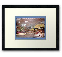 Colorful Landscape Framed Print