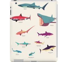 Sharks iPad Case/Skin