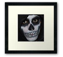 Deathly Smile Framed Print