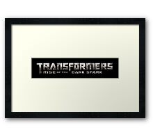 Transformers Logo Framed Print