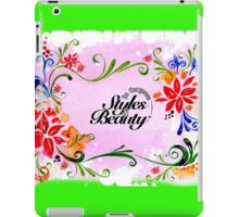 Be Gorgeous Styles By Mimmie iPad Case/Skin