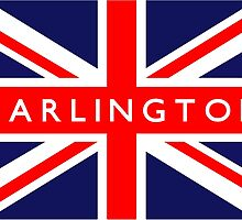 Darlington UK Flag by ukedward