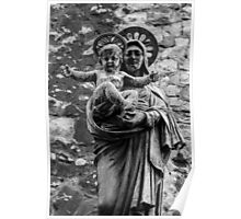 Virgin Mary with Jesus Christ Poster