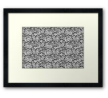 Cool abstract design Framed Print
