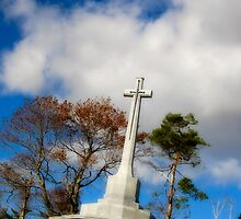 War Monument in Point Pleasant Park by Paul Clarke