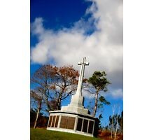 War Monument in Point Pleasant Park Photographic Print