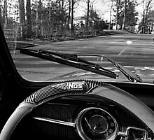 Saturday Drive in Patch Black and White by Adrena87