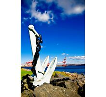 Anchored in Halifax Photographic Print