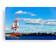 Industry, Halifax Docks Canvas Print