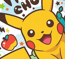 pikachu by minkeri