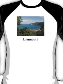 Looking down on Lynmouth  T-Shirt
