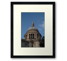 St Paul's Cathedral Dome Framed Print