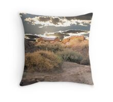 The Fingal Mine office revisited Throw Pillow