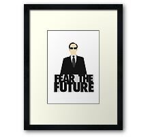The Matrix - Agent Smith - Fear The Future Framed Print