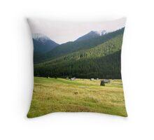 Shepherds' paradise Throw Pillow