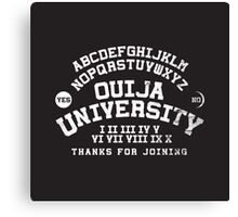 Ouija University  Canvas Print