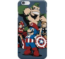 Nintendo Avengers iPhone Case/Skin