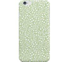 Vintage Detailed Floral Seamless Pattern Background iPhone Case/Skin