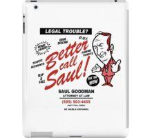 Legal Trouble? iPad Case/Skin