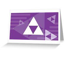 Retro Games: Zelda Greeting Card