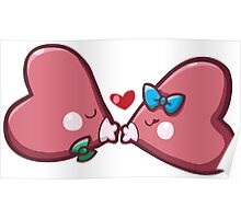 Cute Luvdisc Smooches Poster