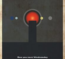 Movie Quote - 2001: A Space Odyssey by garyjbuckland