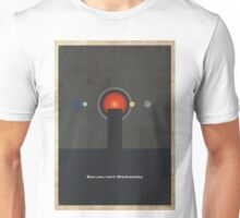 Movie Quote - 2001: A Space Odyssey Unisex T-Shirt