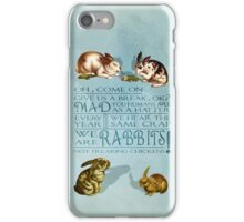 Freaking Rabbits iPhone Case/Skin