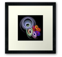 'Connected Hearts' Framed Print