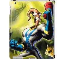 Earthworm Jim! iPad Case/Skin