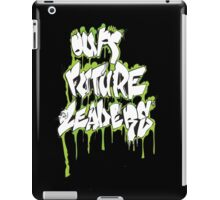 Our Future Leaders Graffiti Green iPad Case/Skin