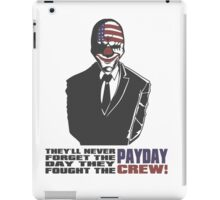 "Dallas - ""They'll Never Forget The Day"" iPad Case/Skin"