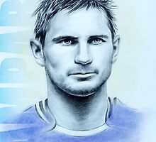 Frank Lampard portrait by wu-wei