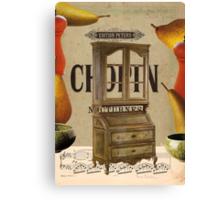 chopin nocturnes Canvas Print