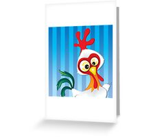 Critterz - Chook Greeting Card