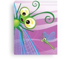 Critterz - Dragonfly 2 Canvas Print