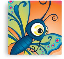 Critterz - Butterfly1 Canvas Print