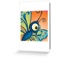 Critterz - Butterfly1 Greeting Card