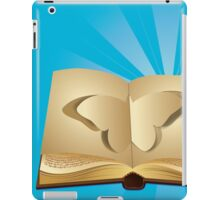 Butterfly cut out of book 2 iPad Case/Skin