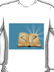 Butterfly cut out of book 2 T-Shirt