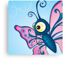Critterz - Butterfly2 Canvas Print