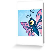 Critterz - Butterfly2 Greeting Card