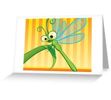 Critterz - Dragonfly 1 Greeting Card