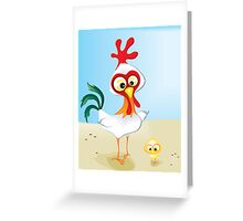 Critterz - Chook & Chick Greeting Card