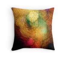 Scrooge Hits His Knees Throw Pillow